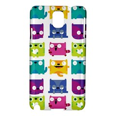 Cats Samsung Galaxy Note 3 N9005 Hardshell Case