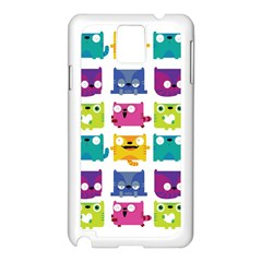 Cats Samsung Galaxy Note 3 N9005 Case (white)