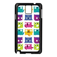 Cats Samsung Galaxy Note 3 N9005 Case (Black)