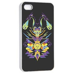 Mistress Of All Evil Apple Iphone 4/4s Seamless Case (white)