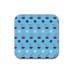 Summer Sailing Drink Coasters 4 Pack (Square)