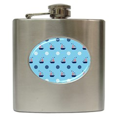 Summer Sailing Hip Flask