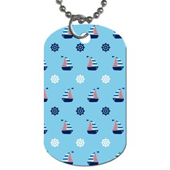 Summer Sailing Dog Tag (two Sided)