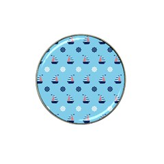 Summer Sailing Golf Ball Marker 10 Pack (for Hat Clip)