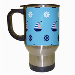 Summer Sailing Travel Mug (White)