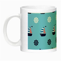 Summer Sailing Glow in the Dark Mug