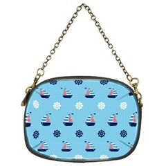 Summer Sailing Chain Purse (One Side)