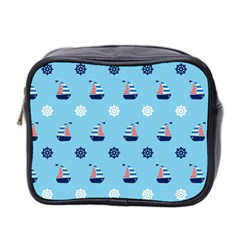 Summer Sailing Mini Travel Toiletry Bag (Two Sides)