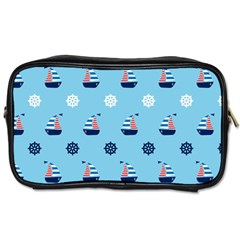 Summer Sailing Travel Toiletry Bag (Two Sides)