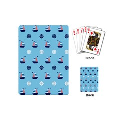 Summer Sailing Playing Cards (mini)