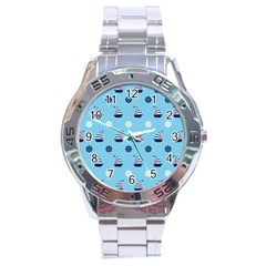 Summer Sailing Stainless Steel Watch