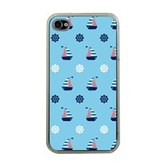 Summer Sailing Apple Iphone 4 Case (clear)
