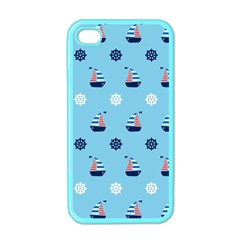 Summer Sailing Apple Iphone 4 Case (color)