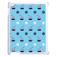 Summer Sailing Apple iPad 2 Case (White)