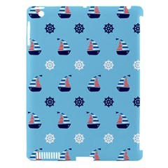 Summer Sailing Apple Ipad 3/4 Hardshell Case (compatible With Smart Cover)
