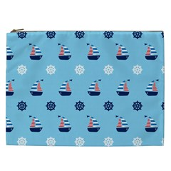 Summer Sailing Cosmetic Bag (XXL)