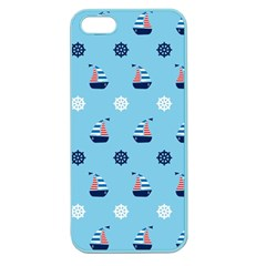 Summer Sailing Apple Seamless iPhone 5 Case (Color)