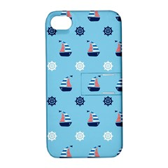 Summer Sailing Apple iPhone 4/4S Hardshell Case with Stand