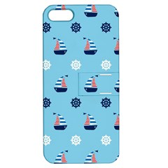 Summer Sailing Apple Iphone 5 Hardshell Case With Stand