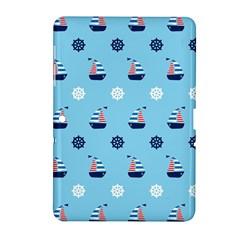 Summer Sailing Samsung Galaxy Tab 2 (10.1 ) P5100 Hardshell Case