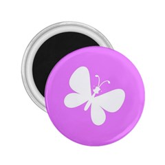 Butterfly 2.25  Button Magnet