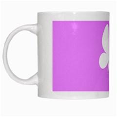 Butterfly White Coffee Mug