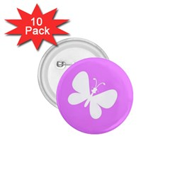 Butterfly 1.75  Button (10 pack)