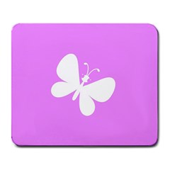 Butterfly Large Mouse Pad (Rectangle)