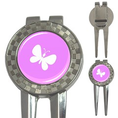 Butterfly Golf Pitchfork & Ball Marker