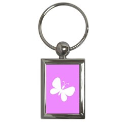Butterfly Key Chain (Rectangle)