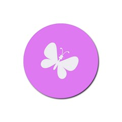 Butterfly Drink Coasters 4 Pack (Round)