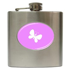 Butterfly Hip Flask