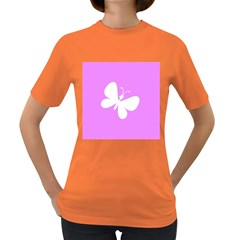 Butterfly Women s T-shirt (Colored)