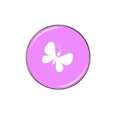 Butterfly Golf Ball Marker 4 Pack (for Hat Clip)