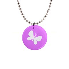 Butterfly Button Necklace