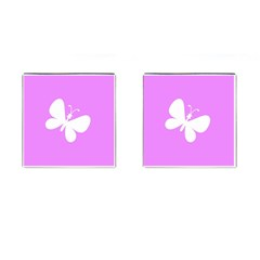 Butterfly Cufflinks (Square)
