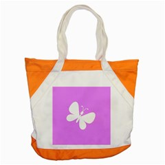 Butterfly Accent Tote Bag