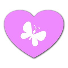 Butterfly Mouse Pad (heart)