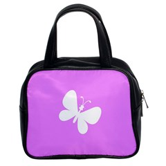 Butterfly Classic Handbag (Two Sides)