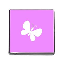 Butterfly Memory Card Reader with Storage (Square)