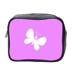 Butterfly Mini Travel Toiletry Bag (Two Sides)