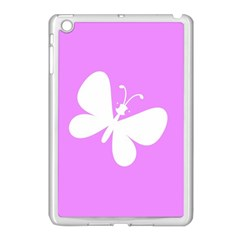 Butterfly Apple iPad Mini Case (White)