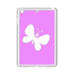 Butterfly Apple iPad Mini 2 Case (White)