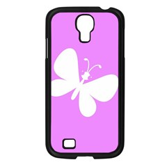 Butterfly Samsung Galaxy S4 I9500/ I9505 Case (Black)