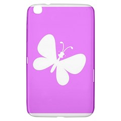 Butterfly Samsung Galaxy Tab 3 (8 ) T3100 Hardshell Case