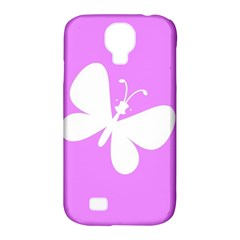 Butterfly Samsung Galaxy S4 Classic Hardshell Case (pc+silicone)
