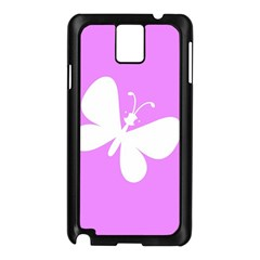 Butterfly Samsung Galaxy Note 3 N9005 Case (Black)
