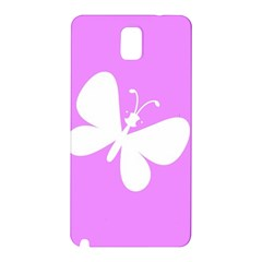 Butterfly Samsung Galaxy Note 3 N9005 Hardshell Back Case