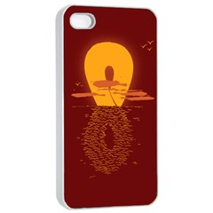 Endless Summer, Infinite Sun Apple Iphone 4/4s Seamless Case (white)