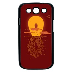 Endless Summer, Infinite Sun Samsung Galaxy S III Case (Black)